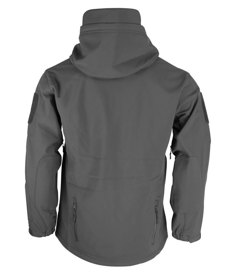 PATRIOT Tactical Soft Shell Jacket - Gunmetal Grey