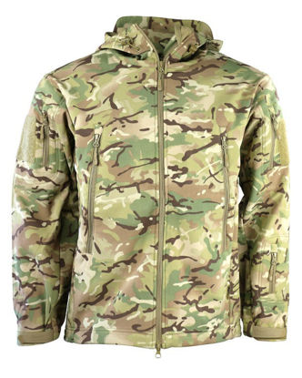 PATRIOT Tactical Soft Shell Jacket - BTP