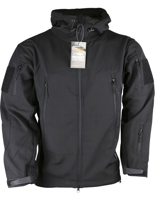 PATRIOT Tactical Soft Shell Jacket - Black