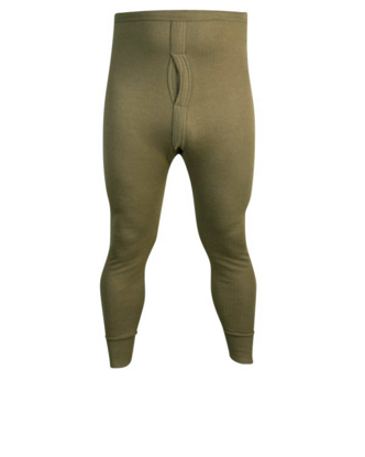 Thermal Long Johns - Olive Green