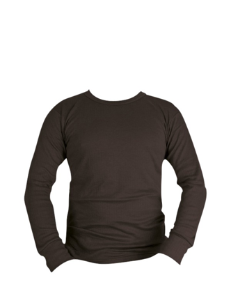 Thermal Long Sleeved Top - Black
