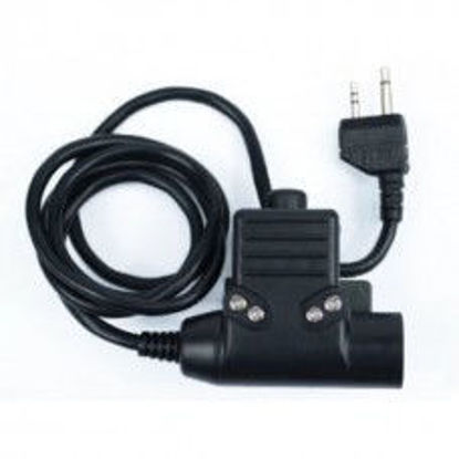 Wadsn U94 Headset PTT for Kenwood / Baofeng 2 Pin Radio