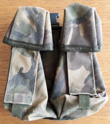 British Army Double Mag Pouches SA80/M4